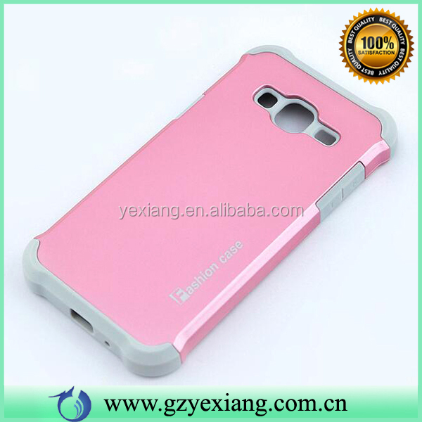 Manufacturer Factory Hybrid Combo Case Cover For Samsung Galaxy J3 2016 Back Cover