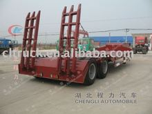 2 axle cheap flat bed semi trailers