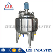 Steel Pressure Electric Heating Mixing Tank for food-processing
