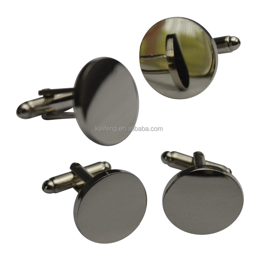 Blank Cufflinks in Stock wedding souvenirs aigner cufflink