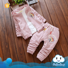 2016 Factory cheap children clothes set kids indian clothes suit baby gift set for 1 years old baby