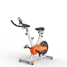 indoor giant spinning exercise bike
