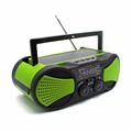 Outdoor Solar Hand Crank powered am fm noaa sw radio for US market