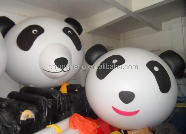 2017 new design cute panda balloon