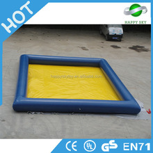 inflated swimming pool, inflatable swim, large swimming pools CE certificate 0.6mm PVC material