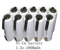 High Temperature battery ni-cd sc 1800mah battery 1.2v /ni-cd sc1800mah 1.2v rechargeable battery /ni-cd sc 1700mah 1.2v battery