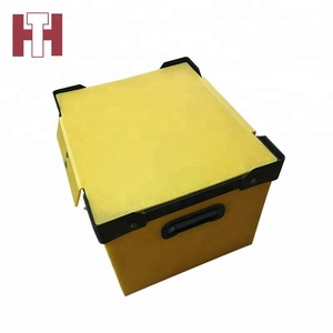 Low cost moving folding storage corrugated boxes plastic