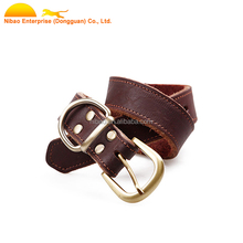 Wholesale Fashion Personalized Leather Dog Collar Making Supplies
