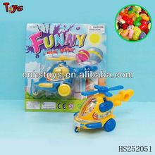 Cartoon pull line toys airplane toy candy