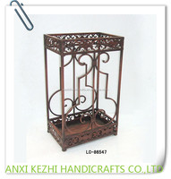 LC-86547 Metal Antique Rectangle Indoor/Outdoor Wet Umbrella Stand/Holder