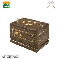 trade assurance supplier reasonable price cremation wooden urn
