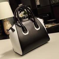 W91189A 2015 Women Fashion Handbag Shoulder Bag/China newest wholesale trendy leather handbag for women