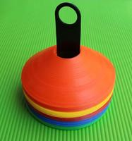 Multi Color Round Cones Sports Equipment for Fitness Training