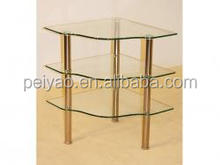 2017 New Design Cheap Butterfly Shape Corner Table