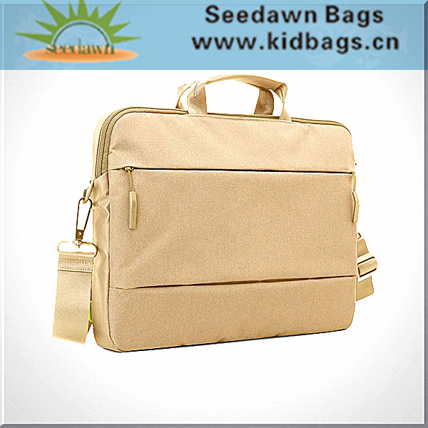 Executive Business Shoulder Sling Slim Laptop Messenger Bag Fashionable Waterproof Briefcase Bag for Laptop