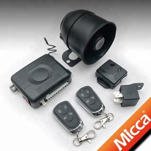 MICCA car security alarm system with universal central door locks, Oto Alarm Sistemleri, Autoalarmy(OW300)