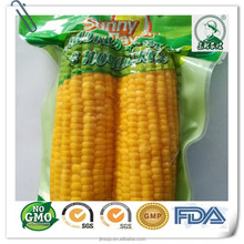 Fruit Flavor sweet corn in pouch for hala instant food