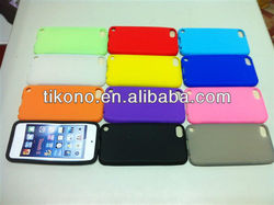 Fashion durable silicon case for ipod touch 5 5th generation with 12 colors