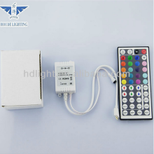 Popular Decoration WHOLESALE PRICE OEM&HOUDE IR Remote Controlled SMD2835 RGB LED Strip Light with 44Key IR Remote Controller