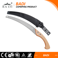 One-stop garden supplier factory curved blade pruning wood handle Hand Saw Guide Bar Marble Tool Angle Cutting Machin