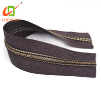 CHENGDA Manufacturer Durable Fancy Special Jeans Paint 5# Teeth Nylon Coil Zip Zipper