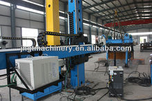 Automatic cross welding manipulator/column and boom for pipe welding
