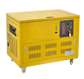 6kw silent type natural gas and gasoline generator , powerful natural gas generator