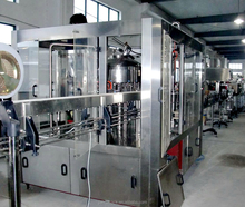 Full automatic juice bottle washing filling capping labeling machine