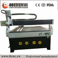 1212 cnc router woodworking machine with vacuum table /CNC wood cutting machine have rotary device