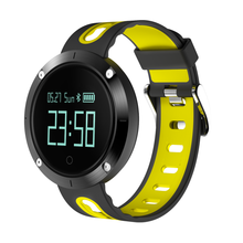 Round Touch Screen Bluetooth Smart Heart Rate Monitor Sport Watch DM58 With Blood Pressure Monitors
