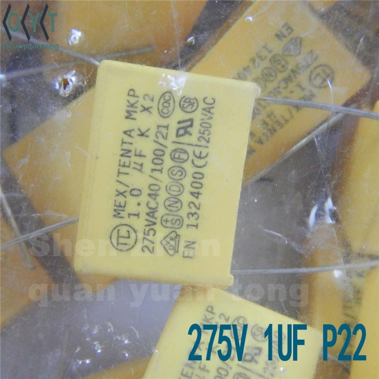 Capacitors 275V 1UF P22 NEW
