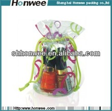 2013 promotional pvc cosmetic drawstring bag