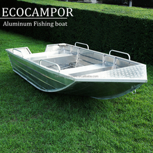 EC380 4 meter 14ft aluminum rowing boat for sale