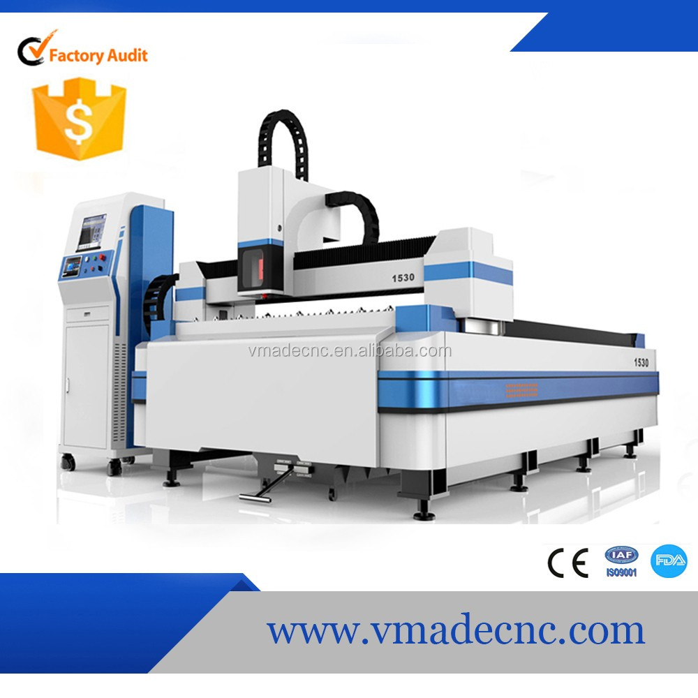 500W 1000W 2000W Stainless steel carbon steel iron metal cnc fiber laser cutting machine/ 1500*3000mm fiber metal cutter