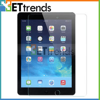 High quality 9H front diamond screen protector for iPad air