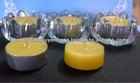 TEALIGHT BEESWAX CANDLES
