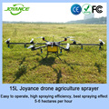 Remote control 15L load agricultural spraying uav autonomous sprayer drone with GPS