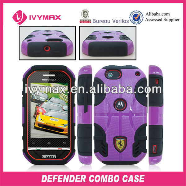 factory fashion cell phone case for motorola i867 cellular cover