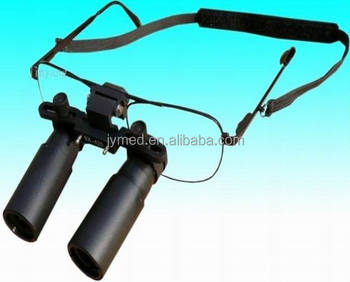 Flip-up medical surgical prismatic loupes 6x