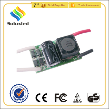 24v dc input constant current led driver 7w