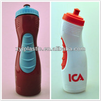 Wholesale BPA free Plastic Sports Water Bottle with Rubber Nozzle and Gripper