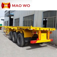 China Container Carrier Transport Trailer And