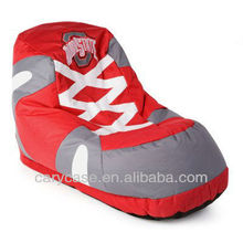 shoes design bean bag chair, New style back supportive beanbag