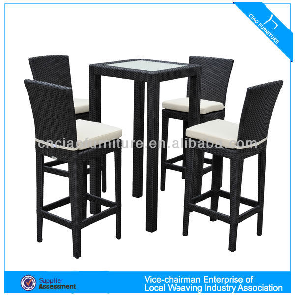 CF785 classic and durable bar tables and stools for commercial