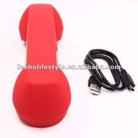 Anti-radiation retro bluetooth mobile phone handset
