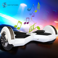 LED Flash Flicker 2 wheels self balancing scooter Singing electric scooter with Bluetooth Speaker for Kids, Adults