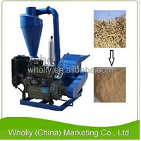 Grain oats corn sawdust wood chip pellet hammer mill machine for sale