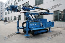 Top Hammer Drilling Equipment HDL-160D Foundation Rig with Crawler for Engineer Construction