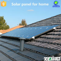 Guangzhou Cheap price and high efficiency 250 watt poly crystal silicon solar panel 250 watt