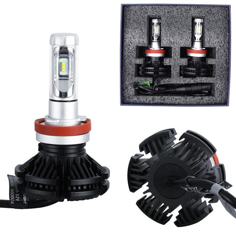 H3 H4 H7 auto lighting system X3 led-scheinwerfer